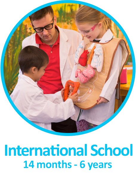 International School 14 months-6years